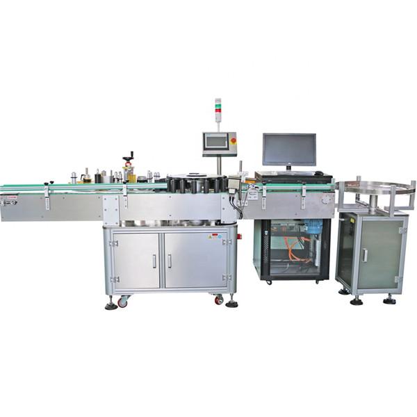 Mașină rotativă de etichetare pentru sticle conice personalizate, conice
