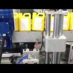 Mașină automată de etichetare a sticlelor de lichide