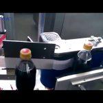 Mașină automată de etichetare a sticlei Cola