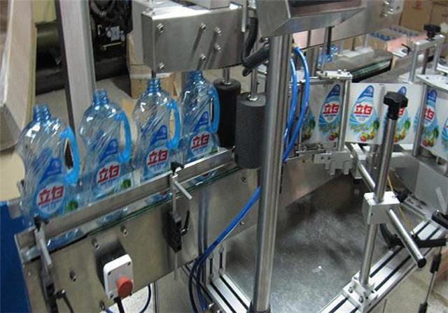 Mașină automată de etichetare cu două fețe pentru sticle de loțiune pentru șampon Detalii