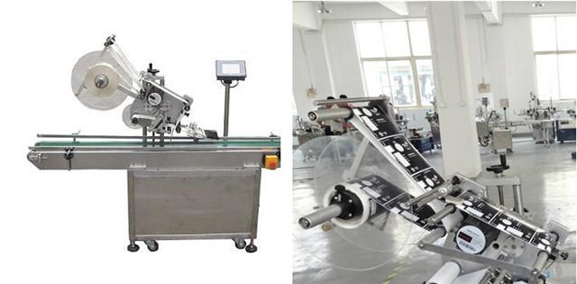 Mașini automate de etichetare a suprafețelor plane pentru cutii de cutii