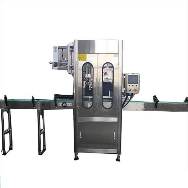 Mașină automată de etichetare a manșonului de retractare a sticlei de mare viteză