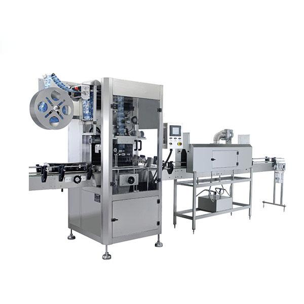 Mașină automată de etichetare termoizolantă cu manșon din PVC pentru sticle