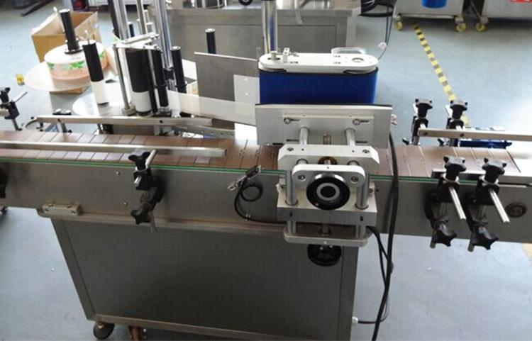 Mașină automată de etichetare a autocolantului pentru sticlă rotundă