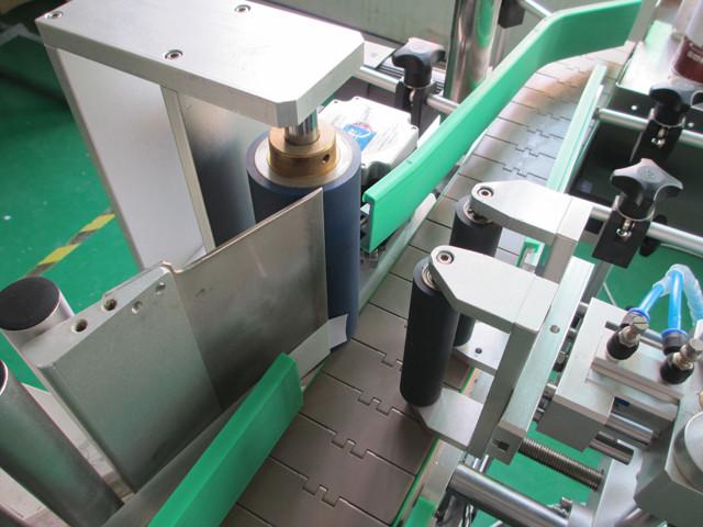 Automate verticale rotunde din metal Cutii de etichetare Echipament Detalii mașini