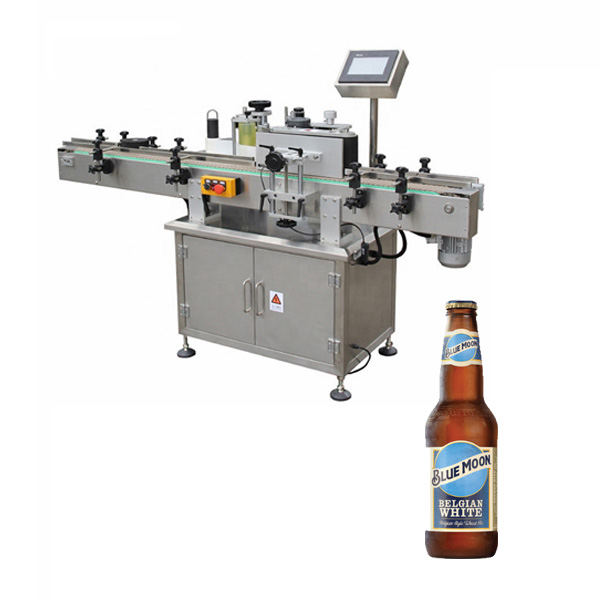 Mașină de etichetat sticle de bere