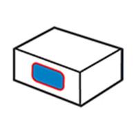 Etichetă laterală pentru cutie 1
