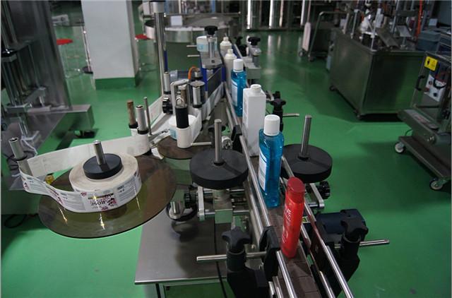 Configurarea automată a mașinii de etichetat sticle rotunde verticale