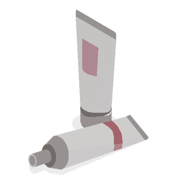 Etichete pentru ambalarea tuburilor cosmetice