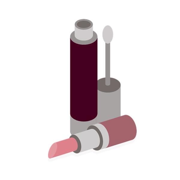 Etichete pentru sticle cosmetice pentru cilindri