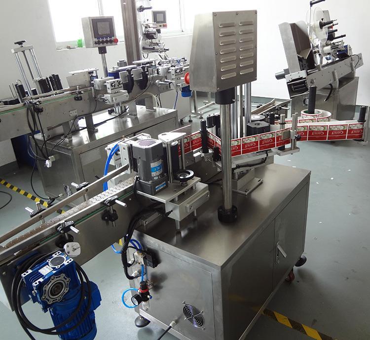 Mașină automată de etichetare a sticlelor rotunde din plastic de înaltă calitate