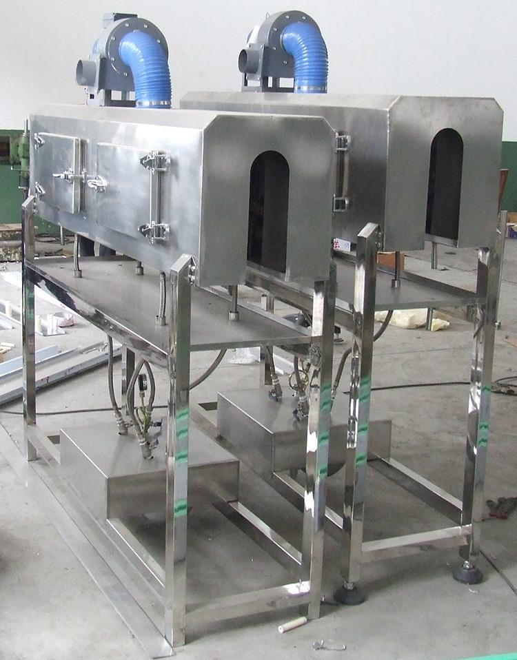 Mașină de etichetare a aplicatorului termocontractabil cu manșon din PVC complet automat