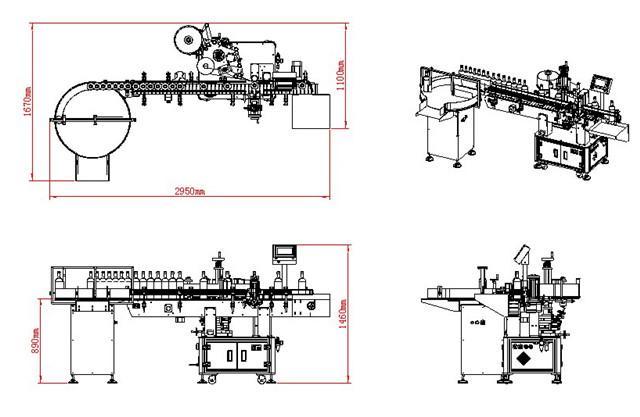 Desenul structurii mașinii