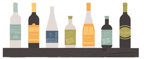 Echipament de etichetare a vinului